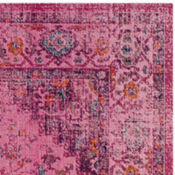 Bungalow Rose Saira Fuchsia Area Rug & Reviews | Wayfair