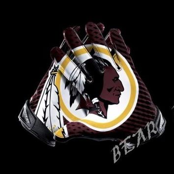 Washington Redskins Glove 3x5 ft flag 100D Polyester flag 90x150cm NFL custom american football gloves flag