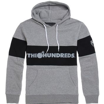 The Hundreds Base Pullover Hoodie - Mens Hoodie - Grey