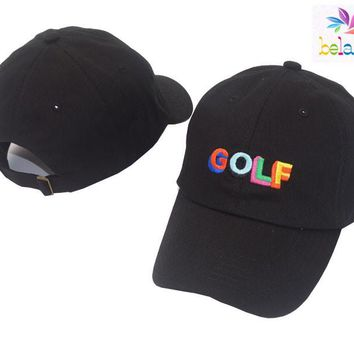 Belababy 2017 Dad Hat Golf Tyler The Creator Snapback Casquette Bone Gorras Black Tactical Baseball Cap Dad Hat Sun Hat For Men