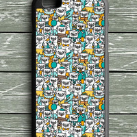 Pug Pattern iPhone 6 Plus Case