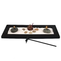 Tabletop Zen Garden - Candles and Incense