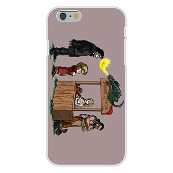 Apple iPhone 6 Custom Case White Plastic Snap On - 'Dragon Rescue' Medieval TV Show Parody