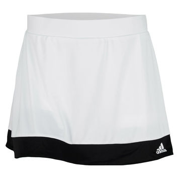 Adidas Women's Galaxy Skort White/Black Skirt SM