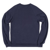 Football Fall (Sweater)-Unisex Navy Sweatshirt