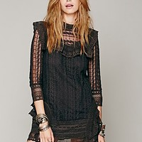 Free People Womens Victor Victorian Dress