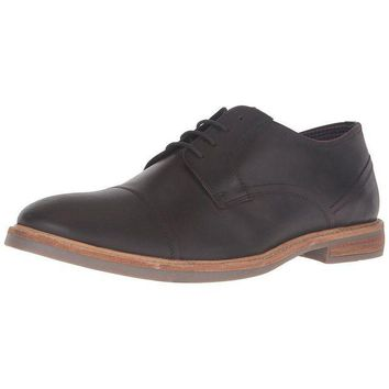 LMFON Ben Sherman - Luke Cap Toe Distressed Mens Shoe