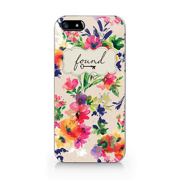 Vintage Embroidery Floral iPhone 5 5S case, iPhone 4 4S case, Free shipping, M075