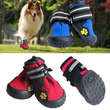 Non Slip Puppy Running Sport Dog Shoes