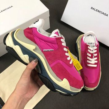 Balenciaga Triple-S Xia Gu jogging shoes-16