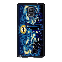 batman starry knight blue case for samsung galaxy note 4 note 3 2