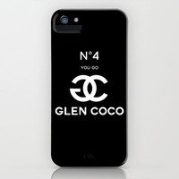 Glen Coco No 4 Black iPhone Case by RexLambo | Society6