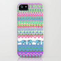 Tiny Circus Elephants iPhone & iPod Case by micklyn | Society6