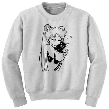 Sailor Moon Sweater | Sailor Moon & Luna Anime Shirt
