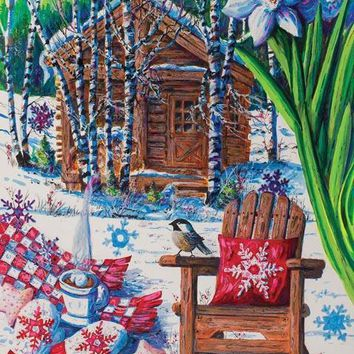 Mountain Cabin Fever 550pc Jigsaw Puzzle