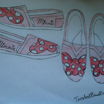 Minnie Mouse Bow TOMS