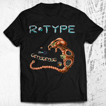 R-Type Dobkeratops Unisex Video Game T-shirt