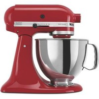 KitchenAid Artisan Series 5 qt. Stand Mixer in Empire Red-KSM150PSER at The Home Depot