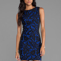 Greylin Renee Body Con Dress in Blue