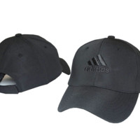 Black ADIDAS Embroidered Baseball Cap
