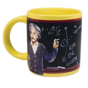 PHILOSPHERS GUILD EINSTEIN BLACKBOARD MUG