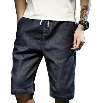 SHORTS Men's Summer Casual Shorts Men Jeans Cargo Knee Man Shorts Bermuda