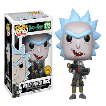 Rick and Morty Weaponized Rick POP! Vinyl Figure - Chase Version