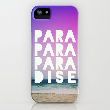 PARADISE iPhone & iPod Case by Leah Flores Designs