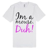 mean girls - mouse-Unisex White T-Shirt