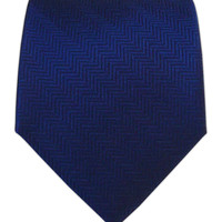 Herringbone - Navy from TheTieBar.com - Wear Your Good Tie Everyday
