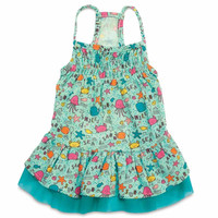 Zack and Zoey Sun and Sea Dog Dress with UPF 40