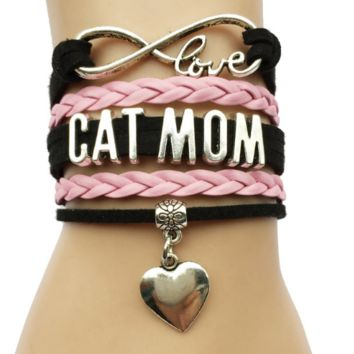 FREE Infinity Love Cat Bracelet (Just Pay Shipping!)