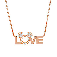 Love Mickey Necklace by CRISLU