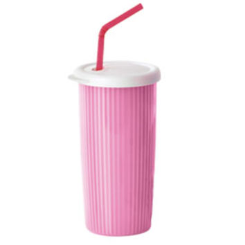 Tupperware | Insulated Tumbler with Drip-Less Straw Seal