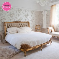 Versailles Luxury Upholstered Bed