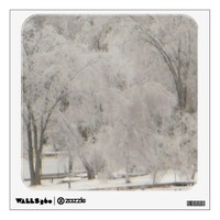 Silvery Trees Wall Decal