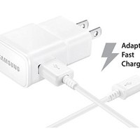 Samsung Travel Charger for Galaxy Note 4/Edge S6 - Non-Retail Packaging - White