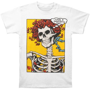 Grateful Dead Men's  Pop Art Bertha T-shirt White