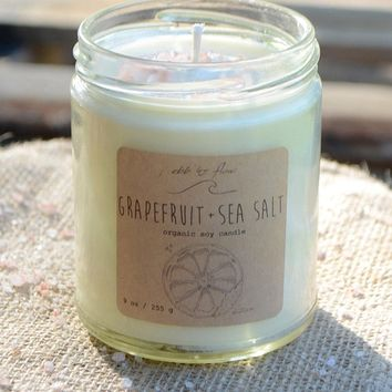Ebb & Flow Grapefruit Candle