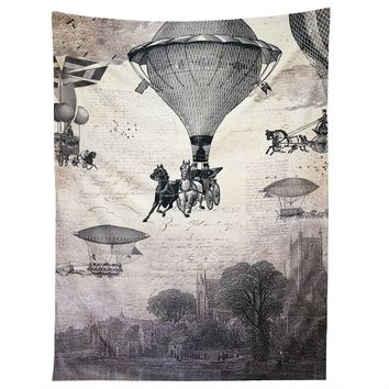 Belle13 Carrilloons Over The City Tapestry
