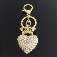 Novelty Heart Keychain