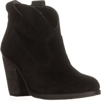 Vince Camuto Hadrien Ankle Booties, Black, 10 US / 40 EU