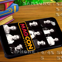 Magcon Boys For iphone 4 iphone 5 samsung galaxy s4 / s3 / s2 Case Or Cover Phone.