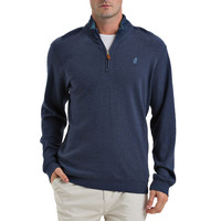 Newport 1/4 Zip Pullover in Atlantic by Johnnie-O - FINAL SALE