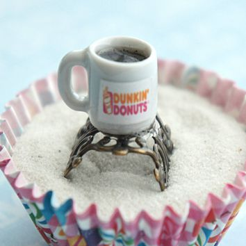 dunkin donut coffee ring