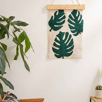 Assembly Home Palms Crewel Wall Hanging