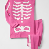 Gap Baby Glow In The Dark Bones Sleep Set