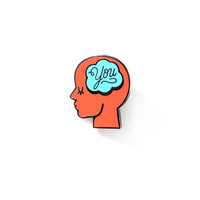 Lost In Thought Enamel Pin