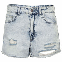 Tall MOTO Hallie Denim Hotpants