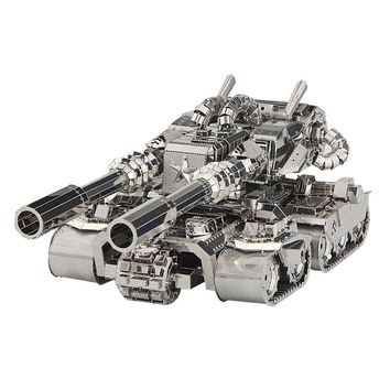 2017 New Arrival 3D Metal Puzzle Apocalypse Tank Model Toys Fans Limited Collection Gifts Military Complex Tanks